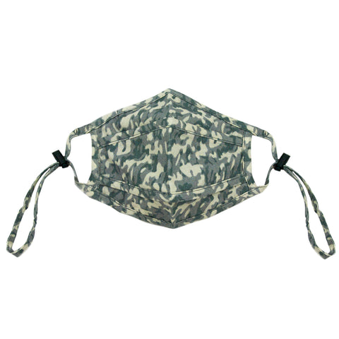 NEW ivory camo adjustable mask