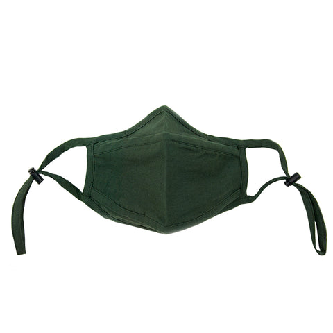 olive adjustable mask