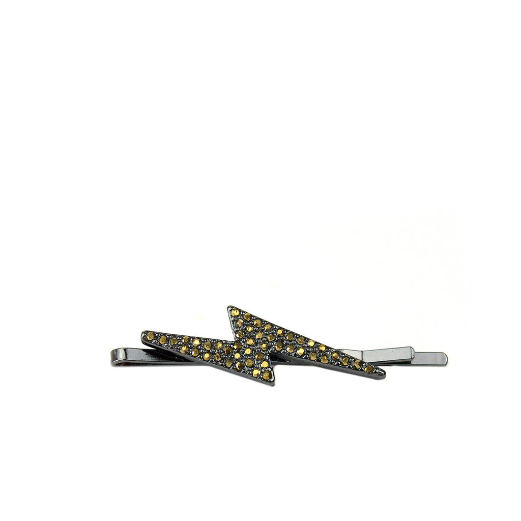 pave bolt hair pin