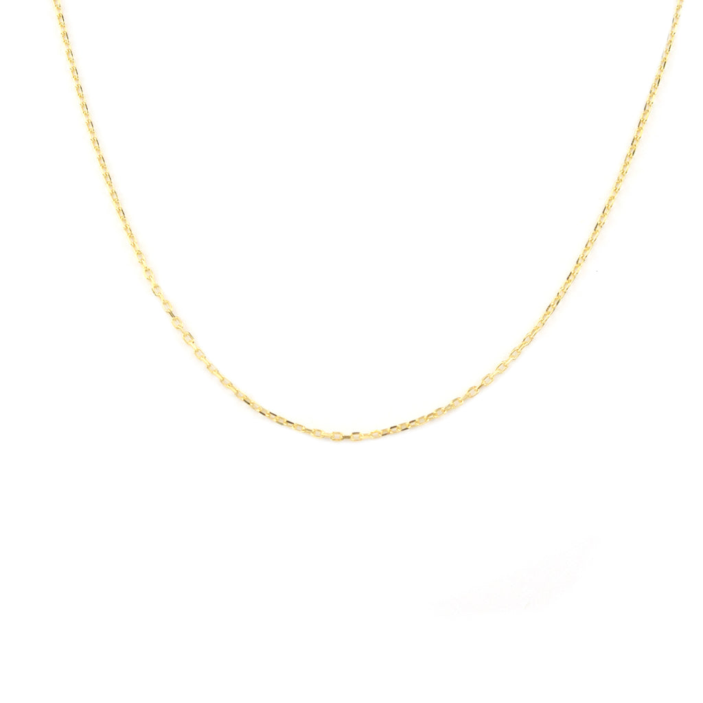 sterling delicate chain
