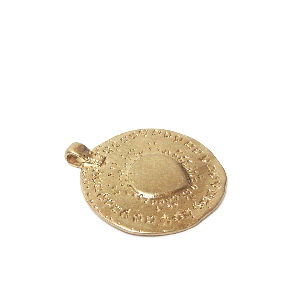 hammered disc charm