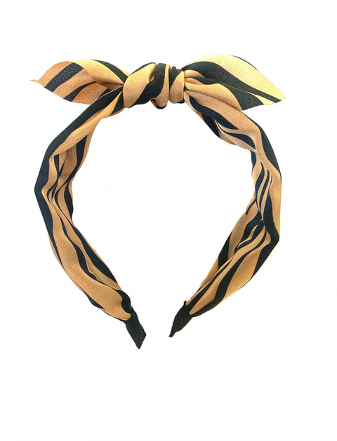 tiger stripe headband