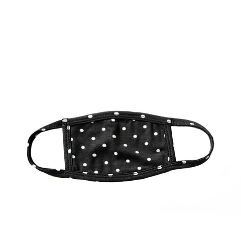 polka dot kids mask