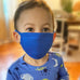 royal blue kids mask