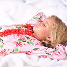 Load image into Gallery viewer, Pink Holly Berry Onesie