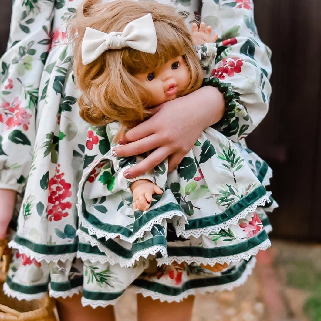 Holly Berry DOLL DRESS