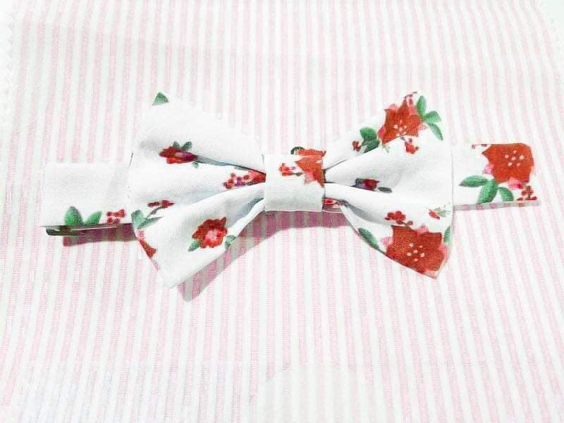 Bow Tie {Patricia Ann and Heather Velvet match}