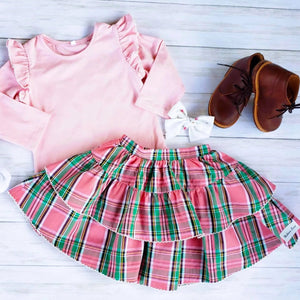 Preppy Plaid Set