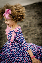 Load image into Gallery viewer, Sweet Heart Twirl Dress (ready to ship size 12m-12yrs)