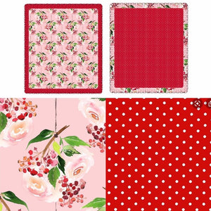 Pink Holly Berry Blanket pre-order
