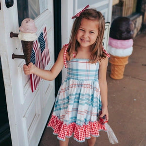 American Beauty Twirl and Doll Dress