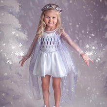 Load image into Gallery viewer, Elsa inspired Skirted Romper Pre-Sale