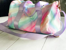 Load image into Gallery viewer, Ombre Rainbow Duffle Bag RTS