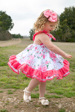 Load image into Gallery viewer, Coral Vintage Dress and Bloomers/Shorts