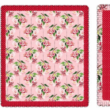 Load image into Gallery viewer, Pink Holly Berry Blanket pre-order