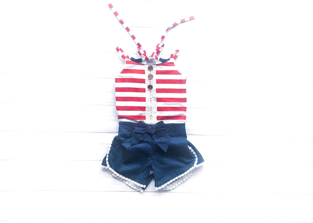 American Honey Romper