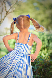 Blue Lagoon Twirl Dress