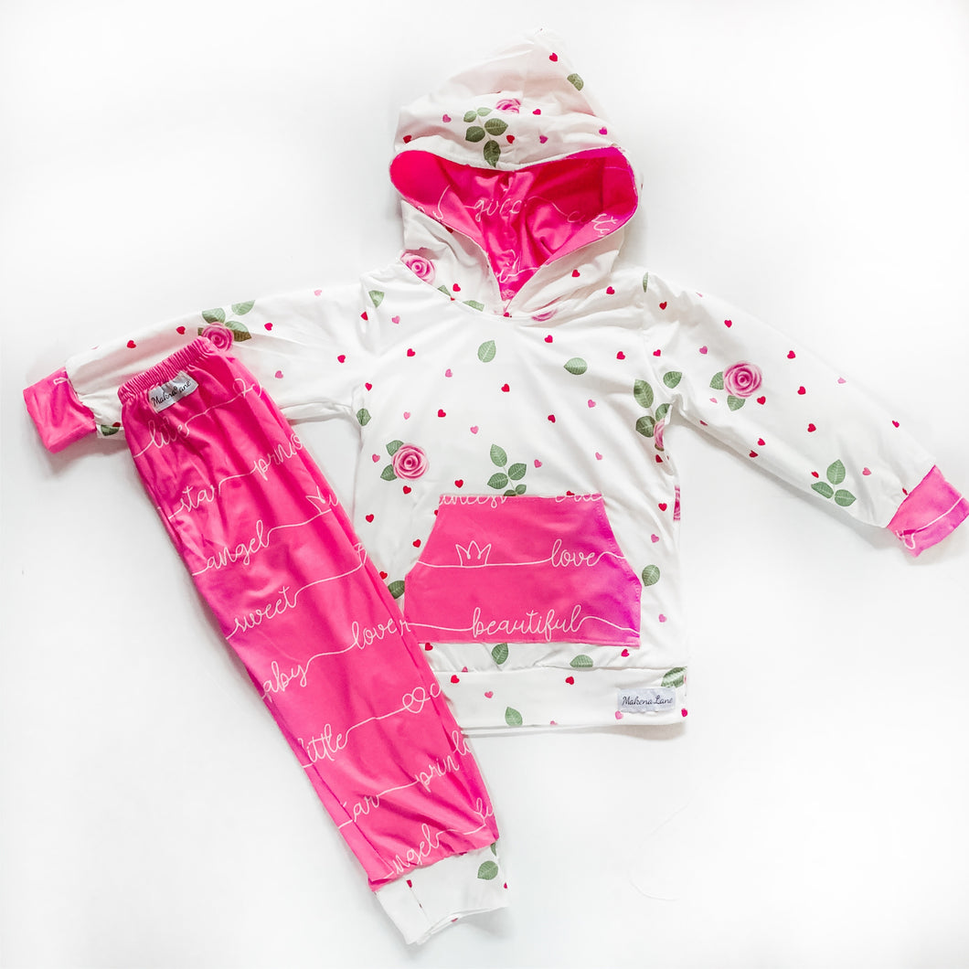 Full of Love Jogger/Hoodie set