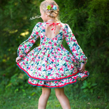 Load image into Gallery viewer, Scarlette Rose Twirl Dress