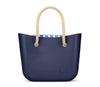 Navy Beach Bag