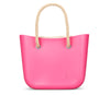 Bright Pink Beach Bag
