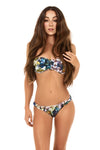 Feathered Toucan Bandeau Bikini Top