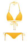 Sunshine Fox Triangle Bikini Top