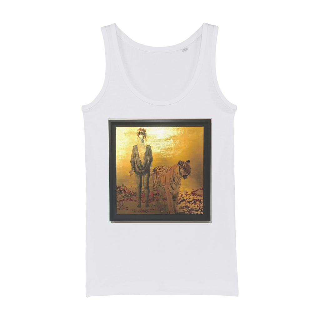 Gold Organic Jersey Womens Tank Top