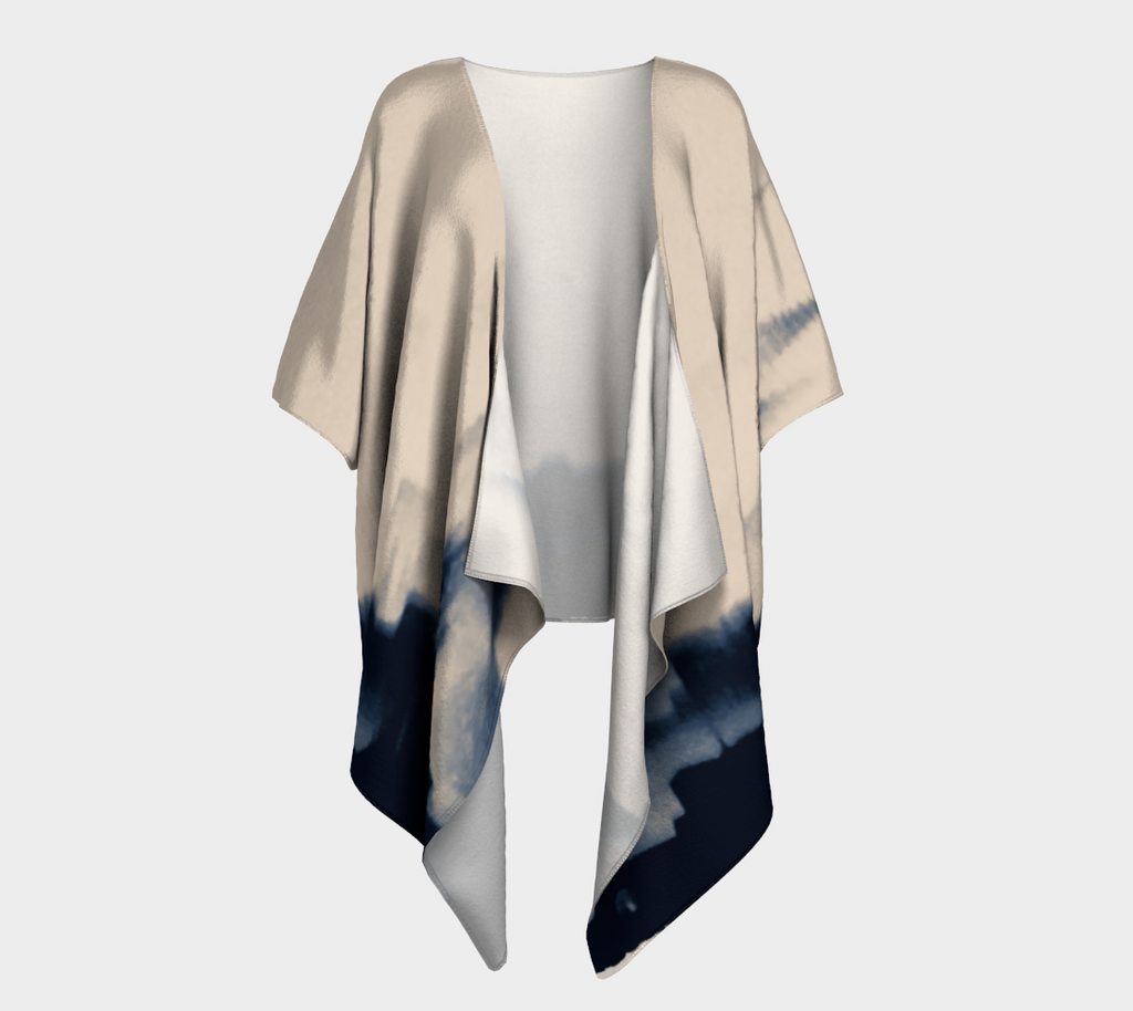 Castles in the Sky Draped Kimono