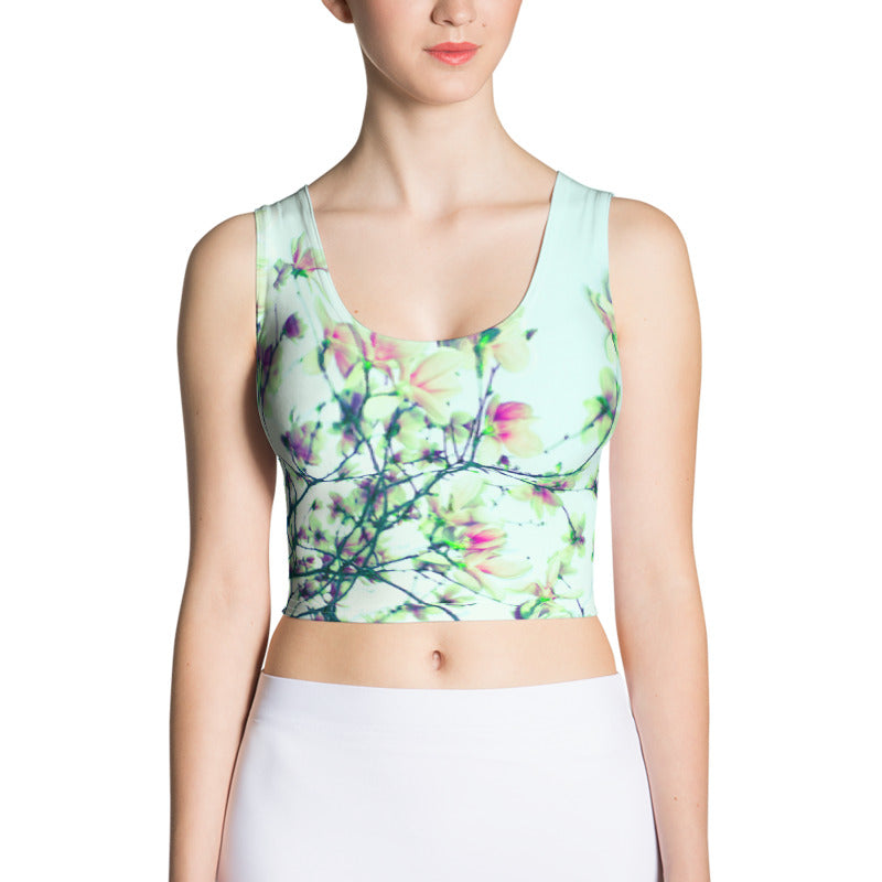 Blooms Crop Tank Mint Variant