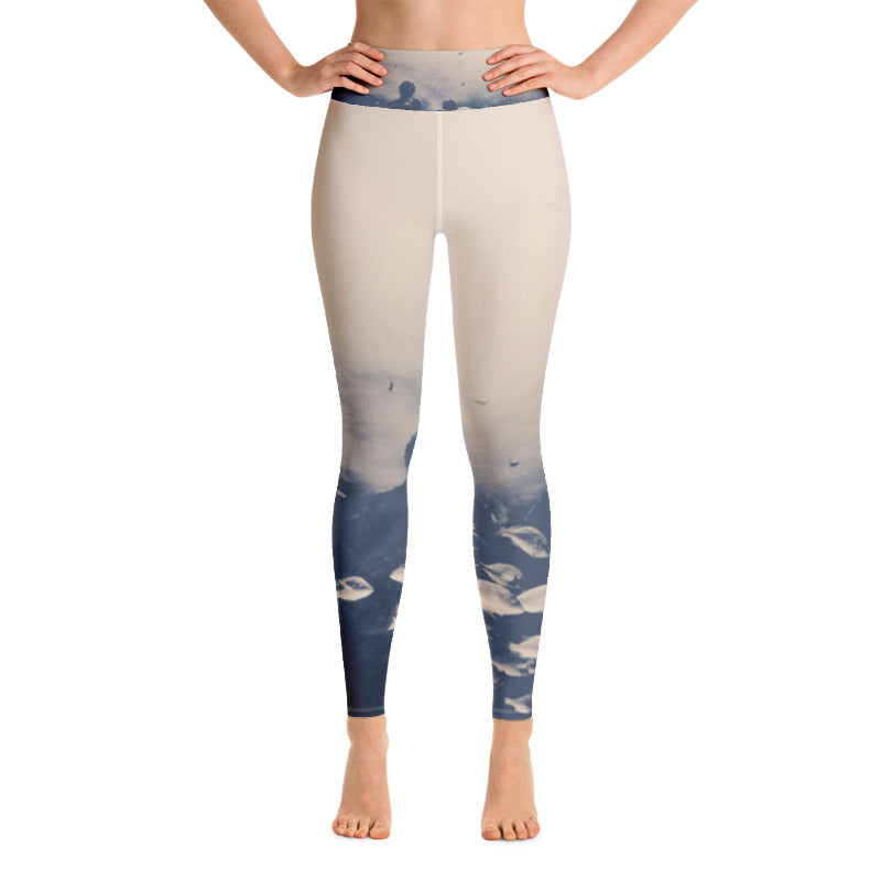Coralition Ink Stains Leggings