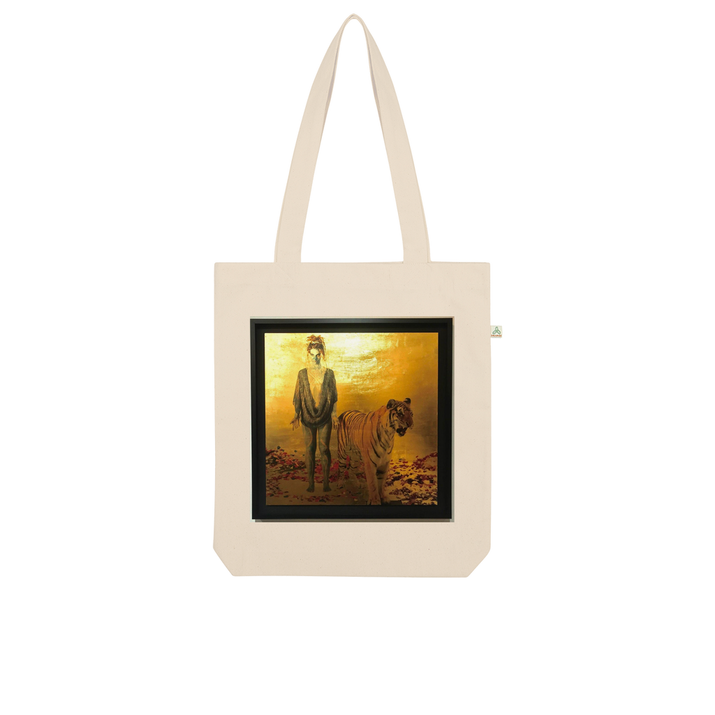 Gold Organic Tote Bag