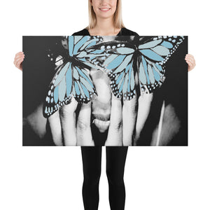 The Butterfly Effect Printed Canvas Blue Variant