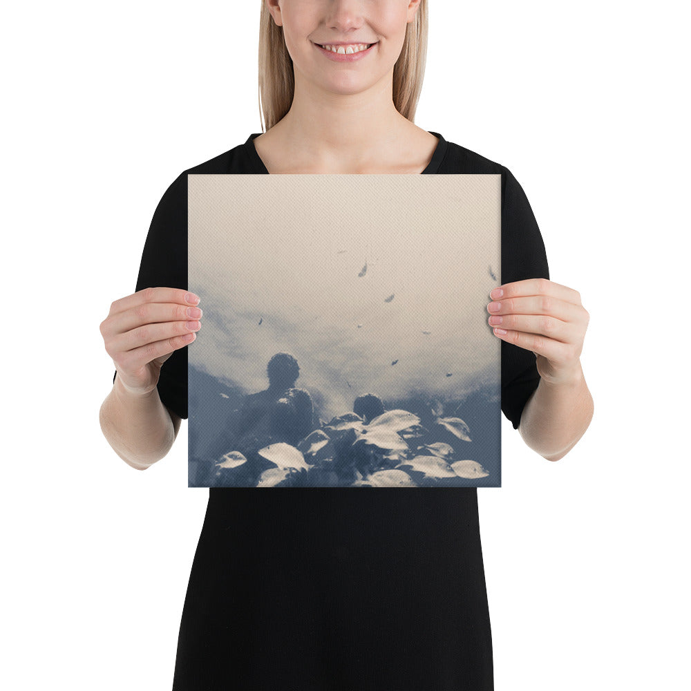 Global Coralition Printed Canvas