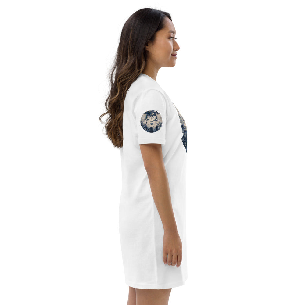 RISE OF THE BUTTERFLY - Organic Cotton Dress
