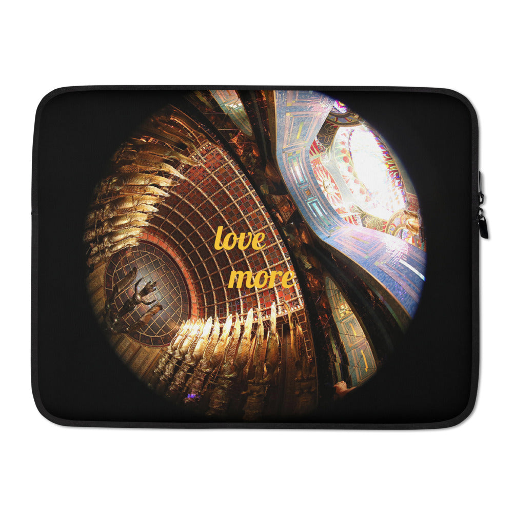 Layla Love Gold Laptop Sleeve