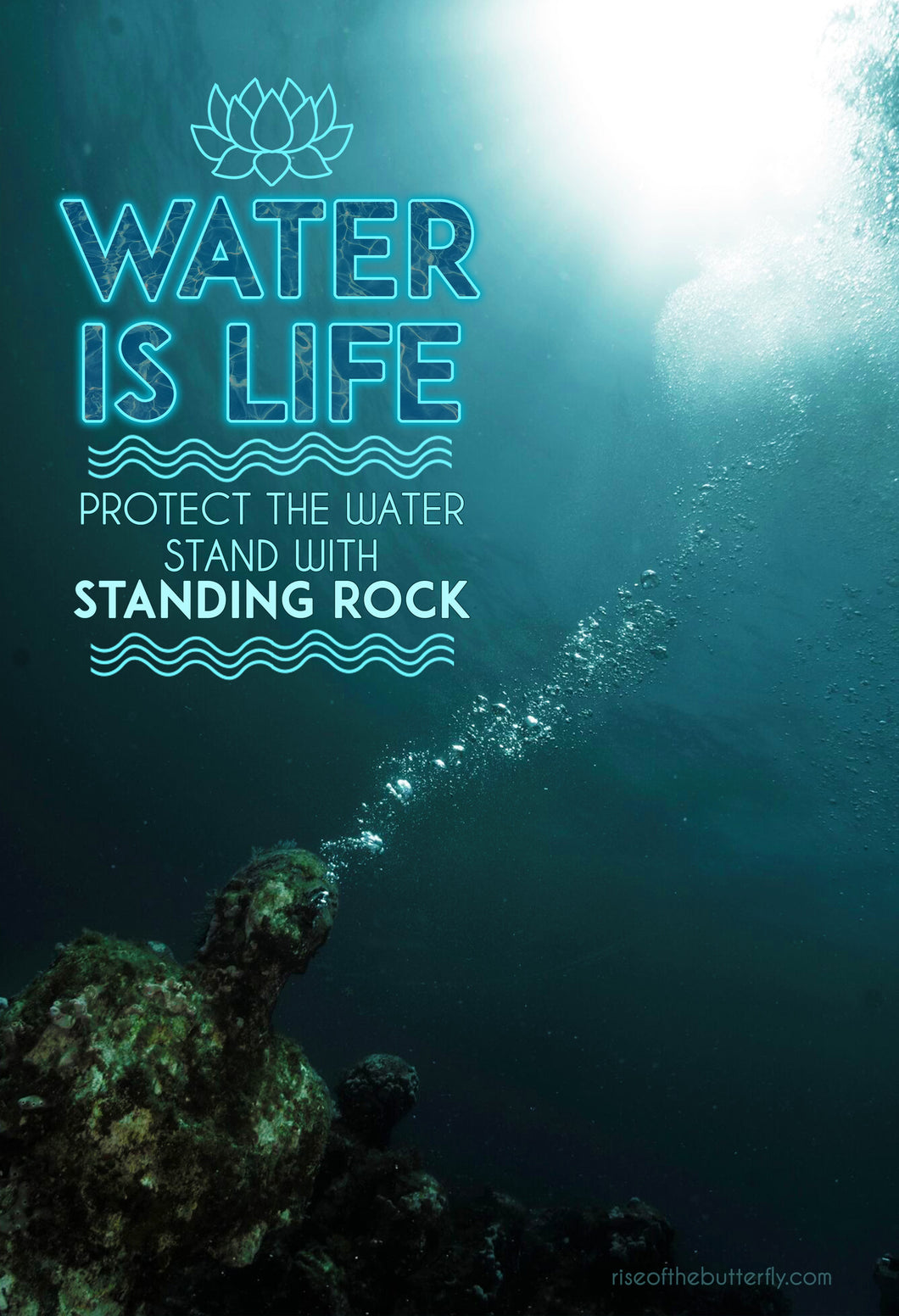 Stand with Standing Rock Poster