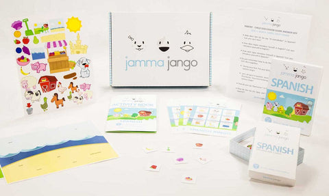 Jamma Jango - An All-In-One-Box with educational activities and resources to teach children a foreign language