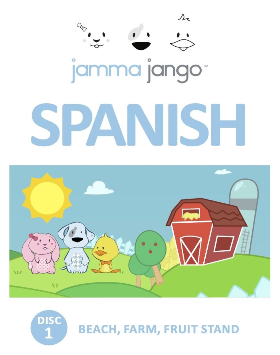Jamma Jango Spanish DVD - Box 1