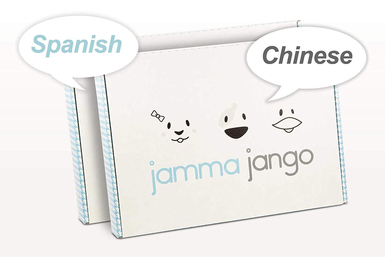 Jamma Jango Language Learning - Box 1 Bundle Package Spanish & Mandarin Chinese