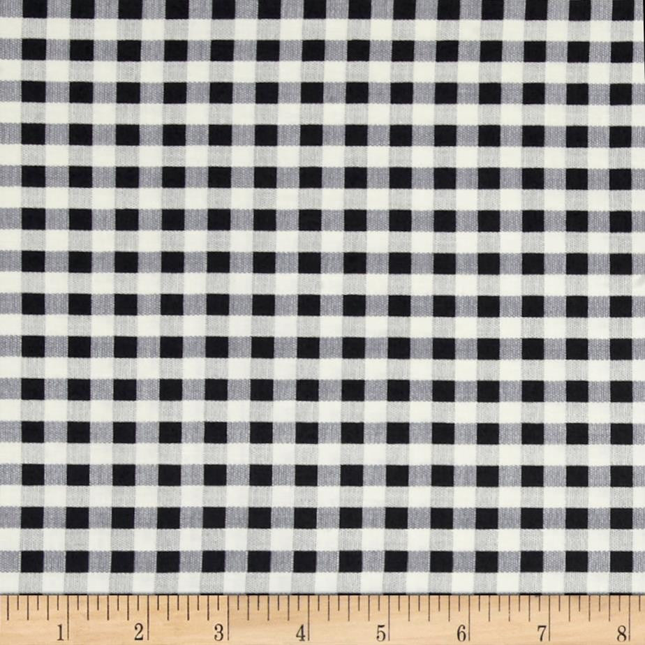 Candleabra - Freespirit Fabrics - Black Check