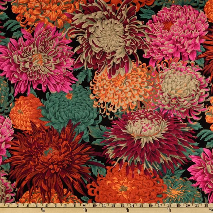 Phillip Jacobs for Rowan - Japanese Chrysanthemum - Red