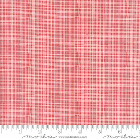 Hello World Red Grid - Modern Vintage Quilt Shop