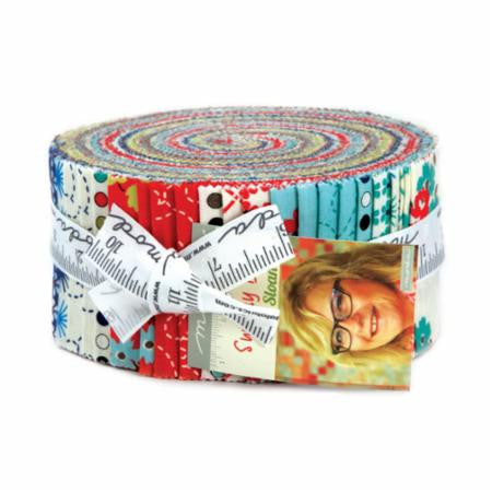 Sunday Drive Jelly Roll by Pat Sloan for Moda - Modern Vintage Quilt Shop
