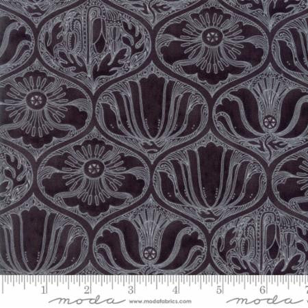 Poppy Mae Ogee Charcoal - Robin Pickens for Moda - Modern Vintage Quilt Shop
