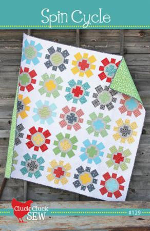 Spin Cycle paper pattern from Cluck Cluck Sew - Modern Vintage Quilt Shop