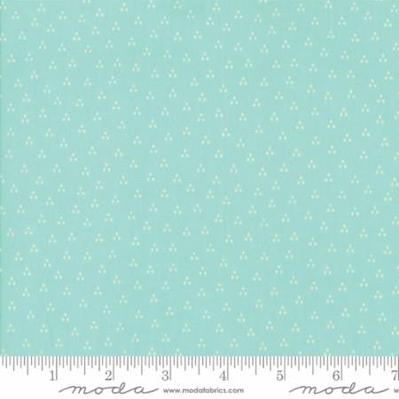 Spring in Aqua - Desert Bloom by Sherri Chelsi for Moda - Modern Vintage Quilt Shop