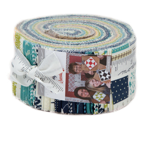 Sunday Supper Jelly Roll by Sweetwater for Moda - Modern Vintage Quilt Shop