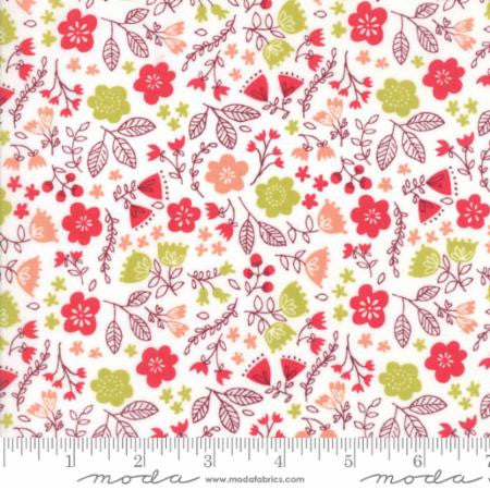 Toss The Garden (Cream) - Just Another Walk in the Woods - Stacy Iset Hsu for Moda - Modern Vintage Quilt Shop