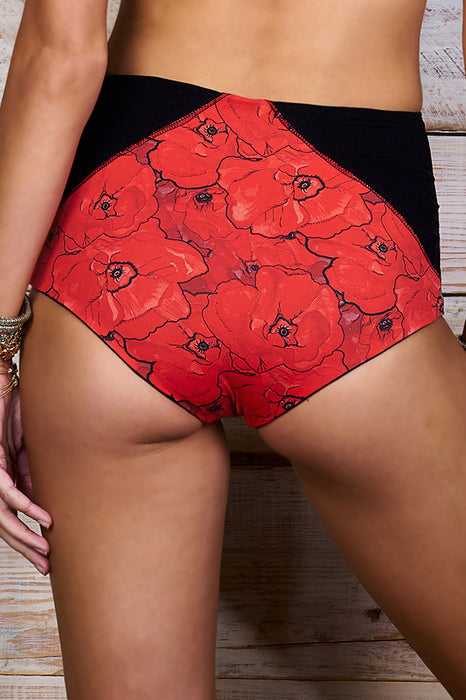 Kapono Red Poppies Bottom